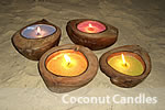 Coconut Candles