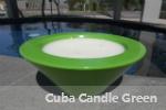 Cuba Candle Green