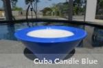Cuba Candle Blue