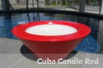 Cuba Candle Red