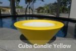 Cuba Candle Yellow