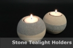 Stone Tealight Holders