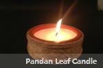 Pandan Leaf Candle