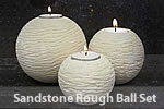 Sandstone Rough Ball Set